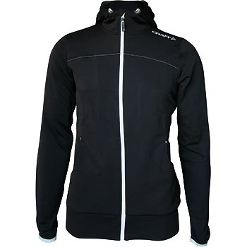 W Mikina CRAFT Leisure Full Zip Hood