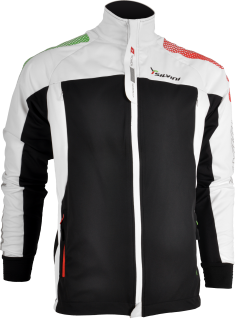 SILVINI SOFTSHELL BUNDA PÁNSKÁ ROCCA MJ416 BLACK-WHITE