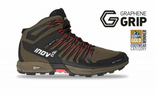 Boty INOV-8 ROCLITE 345 GTX M (M) brown/red