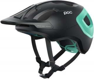 Helma POC AXION SPINURANIUM BLACK/FLUORITE GREEN MATT